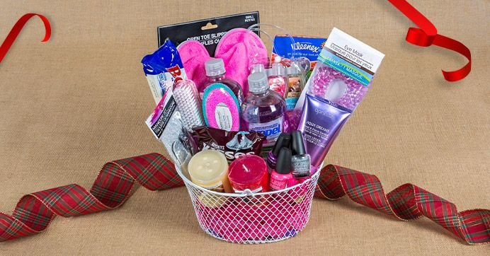 25+ Best Ideas About Gift Baskets For Women On Pinterest