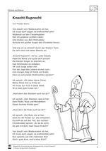 Bildergebnis für Knecht ruprecht gedicht mit Bild