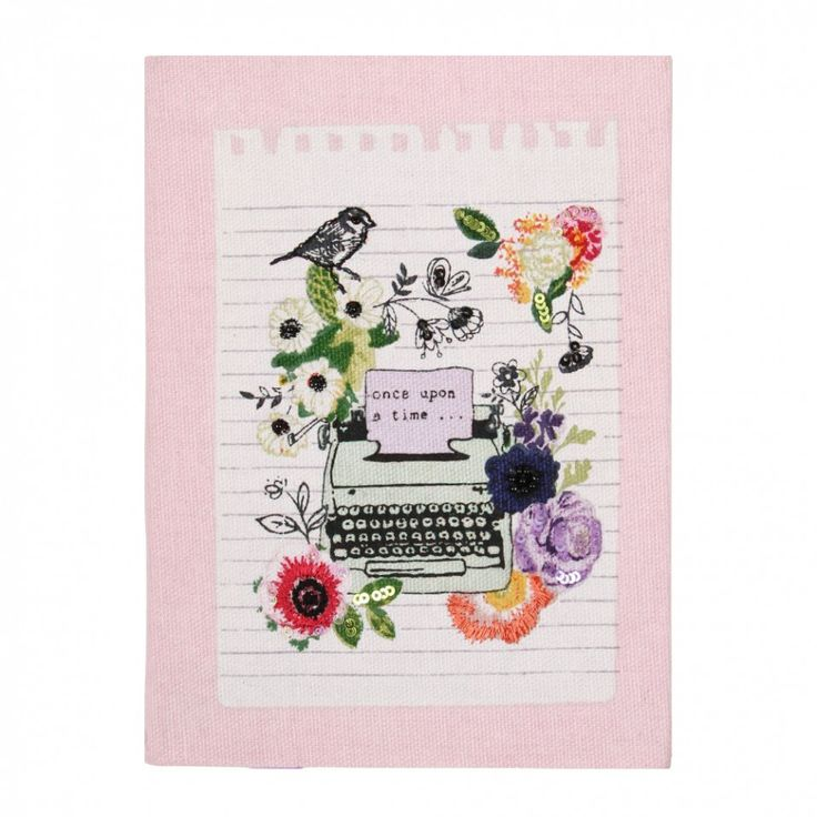 Typewriter small stitched notebook - Notebooks - Stationery