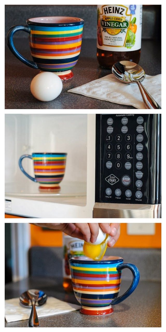 How To Poach An Egg In A Microwave - spruce up your office lunches, or use this simple technique at home!