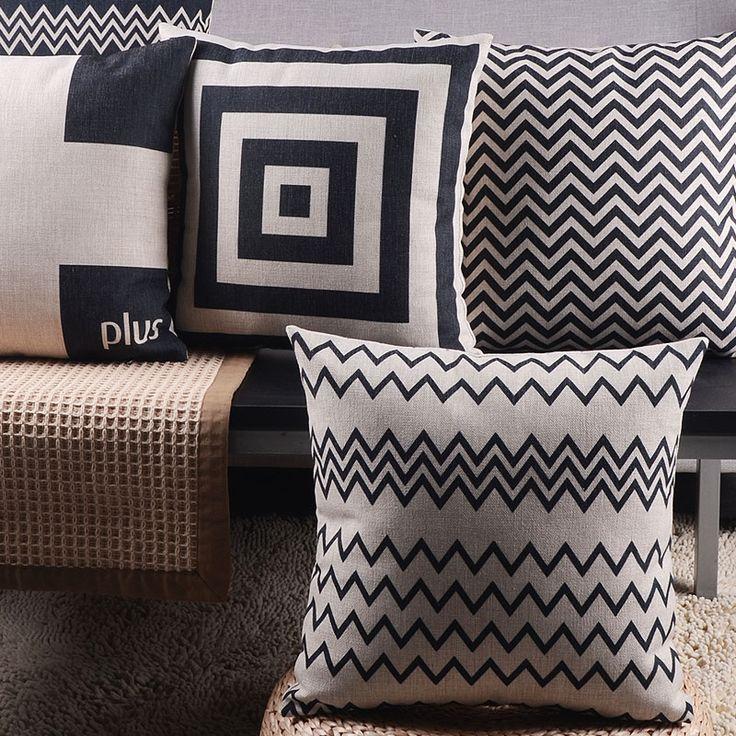Home soft chair Decorative throw almohada Gothic style Lumbar pad Cushion Cover animal seat linen Europe simplism pillowcase  #Affiliate