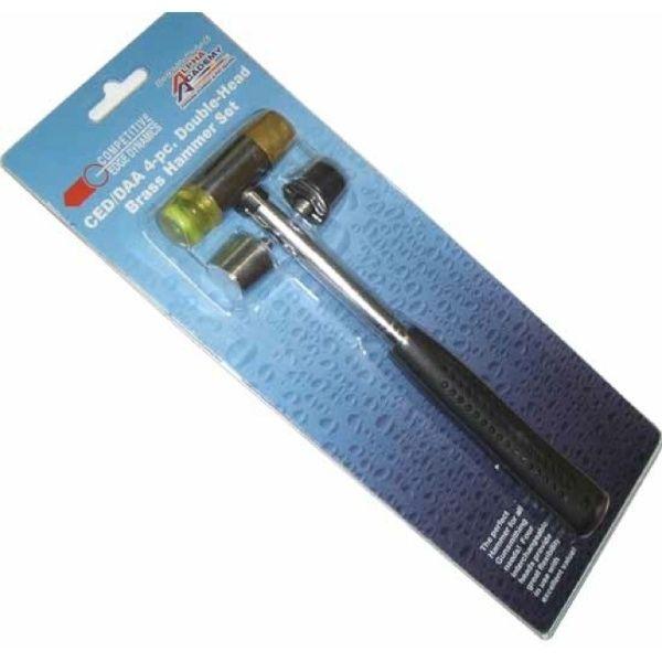 DAA/CED 4-pc. Double-Head Brass Hammer Set - David Bailey Shooting Supplies $20
