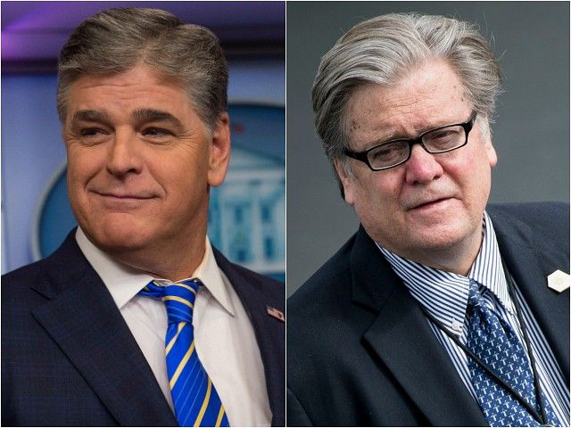 Fox News's Sean Hannity will interview Steve Bannon on Monday outside of a rally for Alabama candidate for the U.S. Senate Judge Roy Moore.