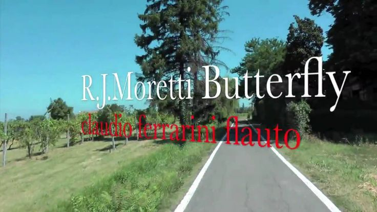 R.J.Moretti Butterfly  flauto claudio ferrarini