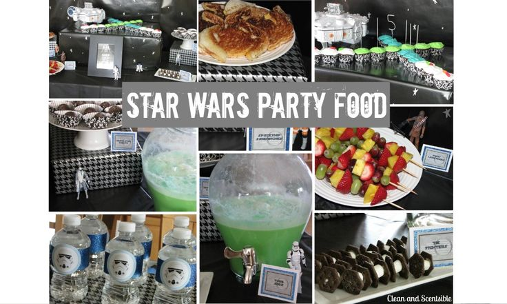 Star Wars Party Food   Star wars party, Star donuts and Sodas