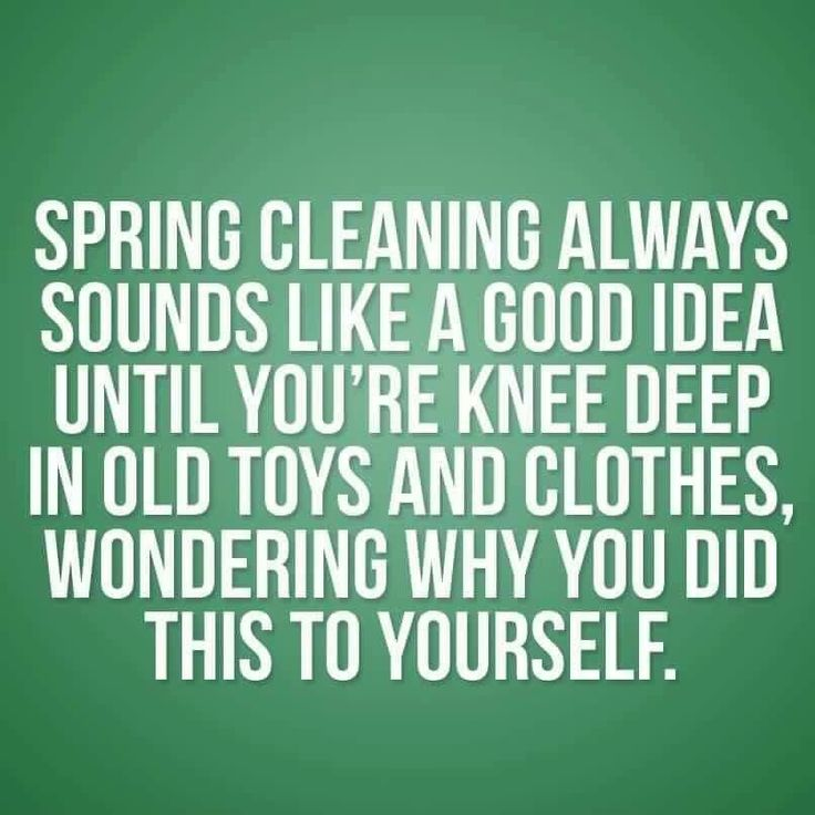 Cleaning anything, at anytime really. I just did the kids clothes, and the playroom, and my walk-in closet is next. Here comes another 5 day process of anxiety cleaning.