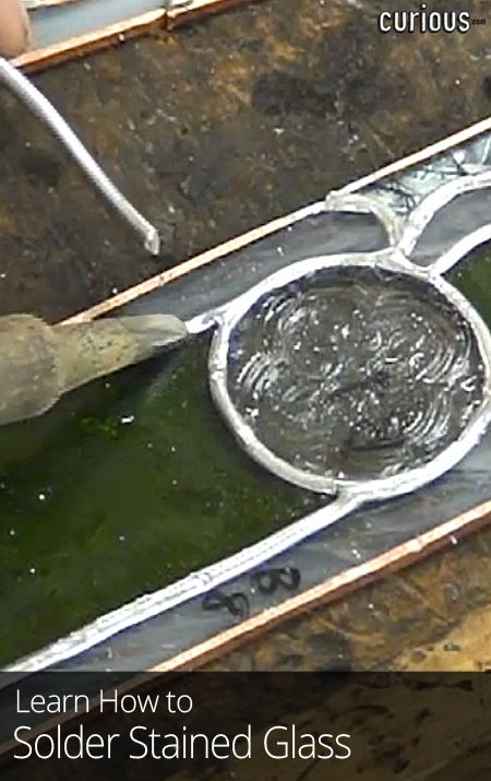 How to Solder Stained Glass                              …