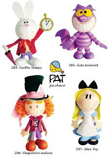 Pat Pacheco Arte Pop: personagens
