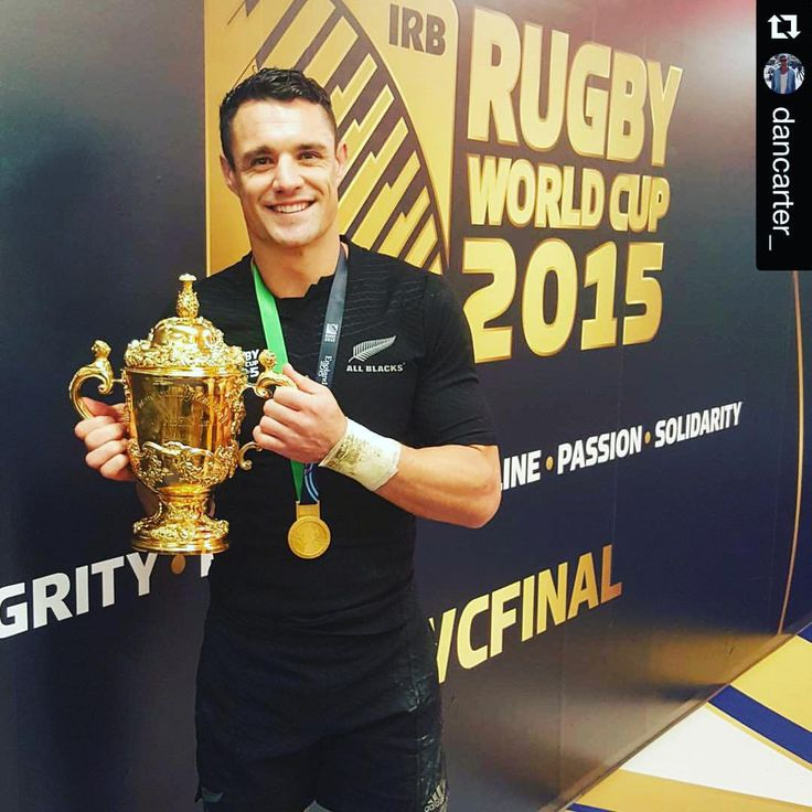 "All Blacks on Instagram: ""#Repost from @dancarter_ We did it! #allblackeverything #TeamAllBlacks #RWC2015 #RWCFinal #NZLvAUS"""