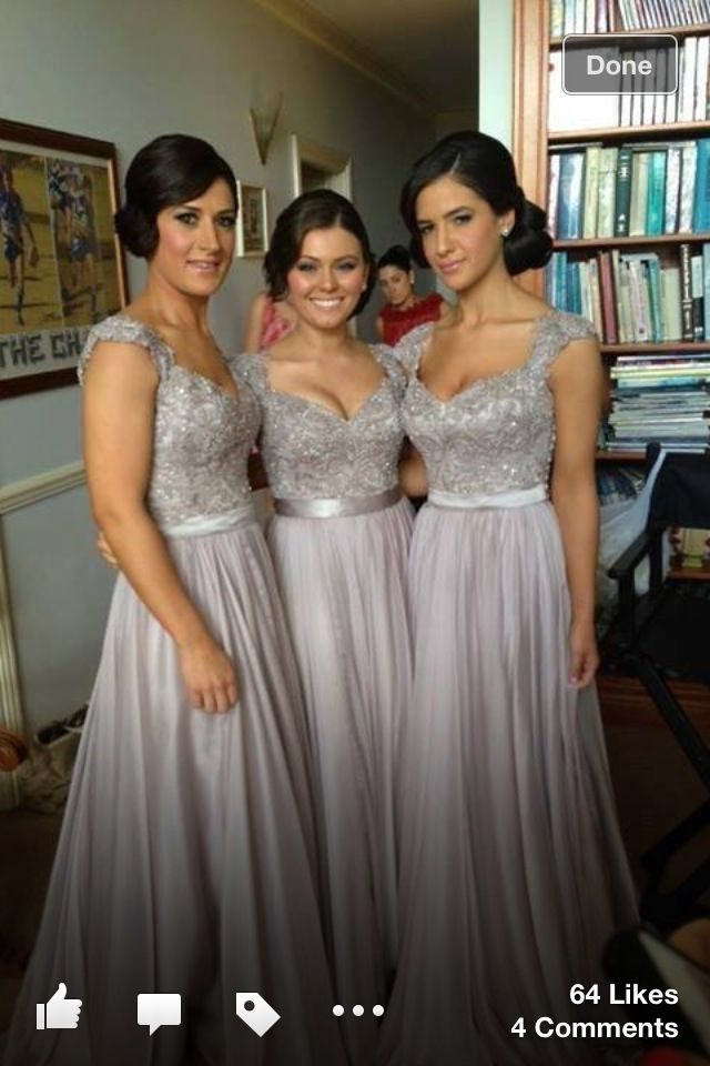 I never thought it was possible to find gorgeous bridesmaid dresses!