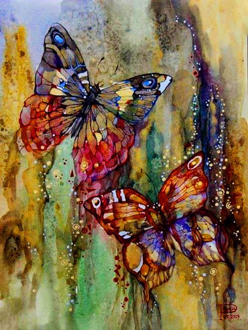 Famous butterfly paintings - photo#7