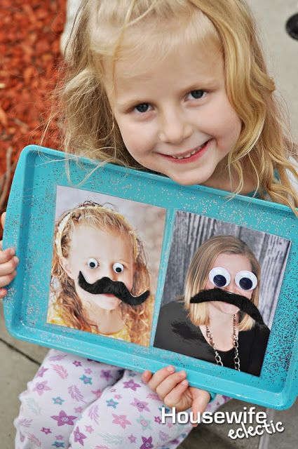 Silly Face Magnet Board