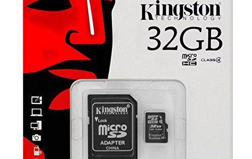 keple | Carte mémoire Micro SD 32Go pour appareil photo blusmart: Polyvalent-lorsqu'il est combiné avec l'adaptateur, peut être utilisé…