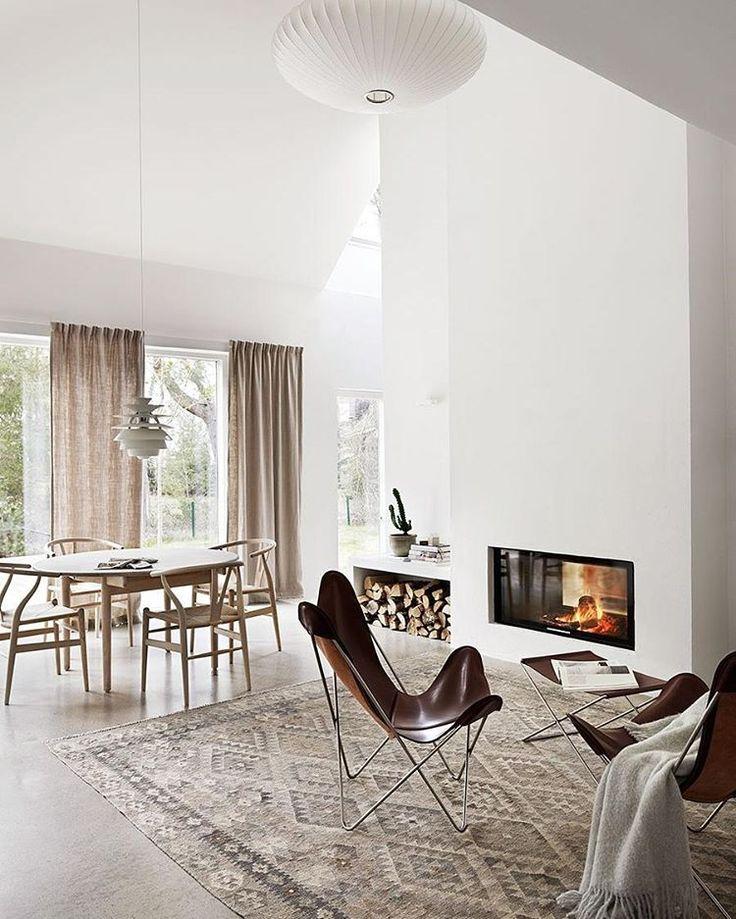 895 best Wohnzimmer images on Pinterest Living spaces, Home and - nordische wohnzimmer