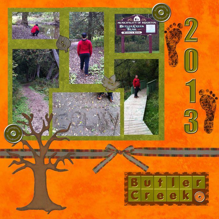 Walk down Butler Creek from Cedar st - 2012