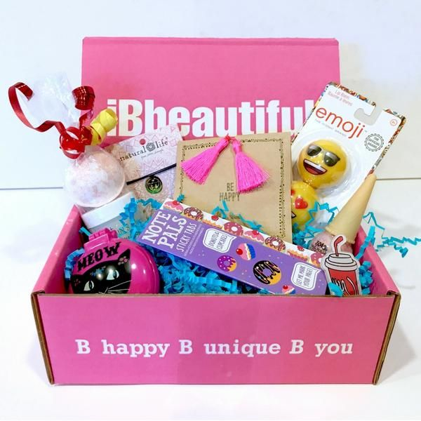 Ibbeautiful Tween Box Pay As You Go Subscription Birthday Gifts For Teens Subscription Boxes For Girls Subscription Boxes For Tweens