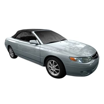 Toyota Solara 2000-2003 Convertible Top, Stayfast, Glass Window, Black