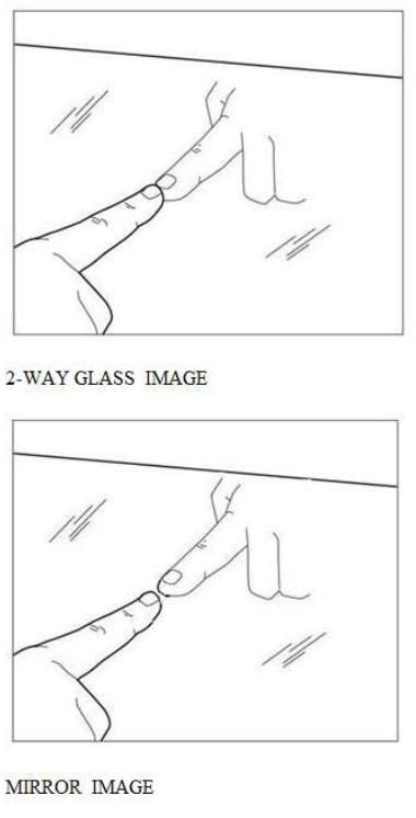 """Is it a mirror or a 2-way glass? Before you undress or do anything private in an unfamiliar place stop and consider the fact that someone may be watching behind a mirror. """"How can you tell"""", you ask…With one simple test and here's how:           Place the tip of your fingernail against the reflection surface and if there is a GAP between your fingernail and the image, then it is a REAL MIRROR. However, if your fingernail TOUCHES the image, then it is a 2-WAY MIRROR and someone may be…"""