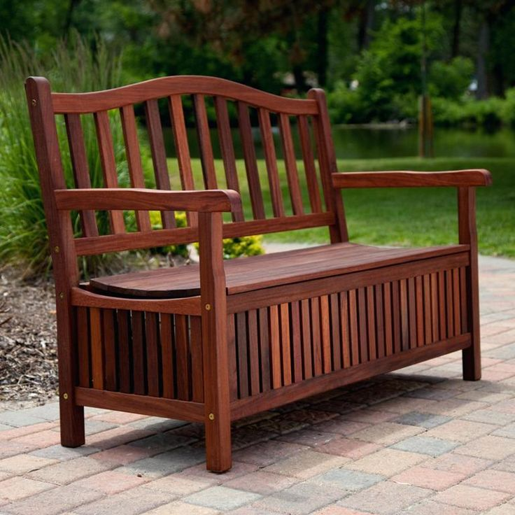 Furniture: Traditional Outdoor Storage Bench Ana White Also Waterproof Outdoor Storage Bench Plans from 3 Tips To Get Best Quality Of Deck Storage Bench