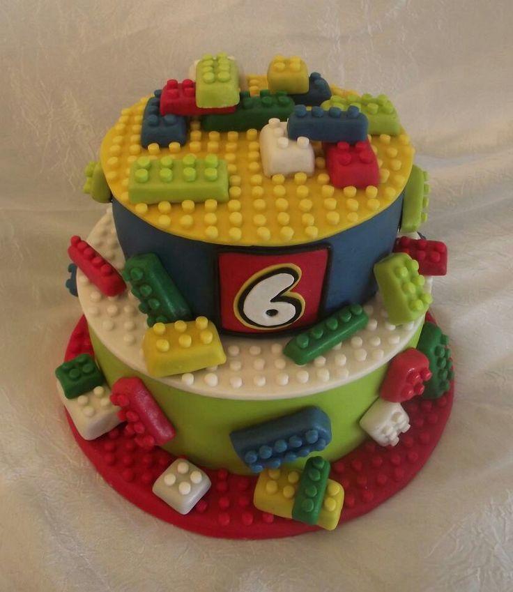 Oltre 25 fantastiche idee su decorazioni con i lego su for Decorazioni torte ninjago