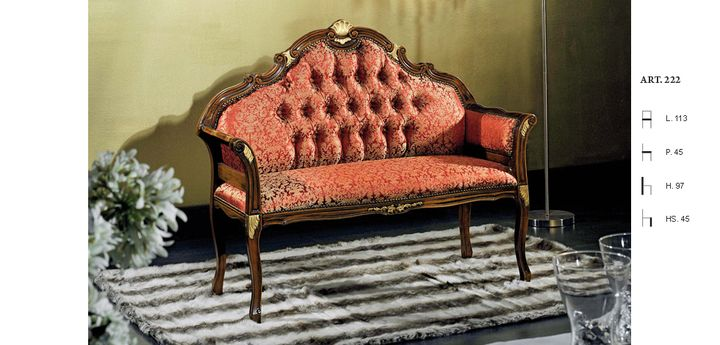 Klasszikus ülőpad - www.montegrappamoblili.hu
