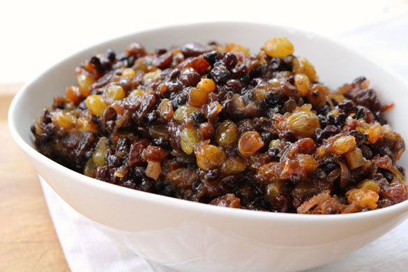 mincemeat bowl Homemade All Fruit Mincemeat (and Tarts) Stir the pot and make a wish..My Mum always said...