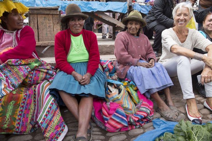 Η Λαγκάρντ όπως δεν την έχετε ξαναδεί -Στο Περού, μετά τις ώρες ΔΝΤ [εικόνες] | iefimerida.gr