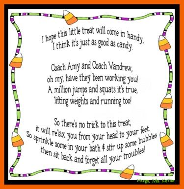 poem for the cheerleading bath treat