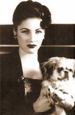Fawzia Fuad, Princess of Egypt and Queen of Iran- goodness gracious was she gorgeous!