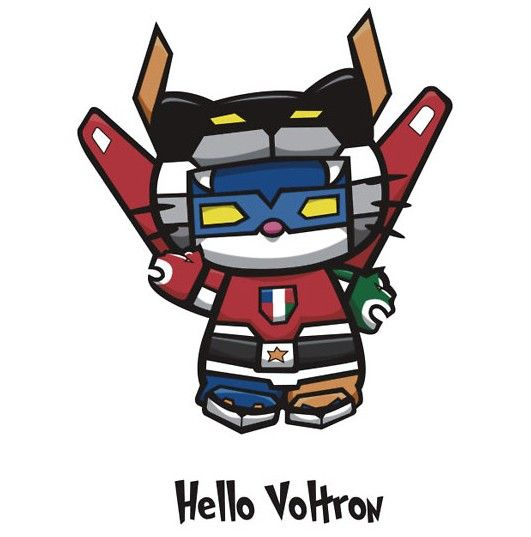 Hello Voltron [T-Shirt] Ok so this isn't technically anime but it is an anime reference of sorts ;D
