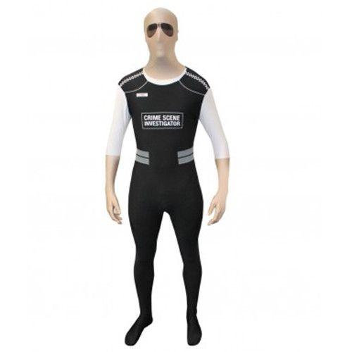 Halloween Costume Lycra Spandex Character Police Fancy Dress Zentai Suits