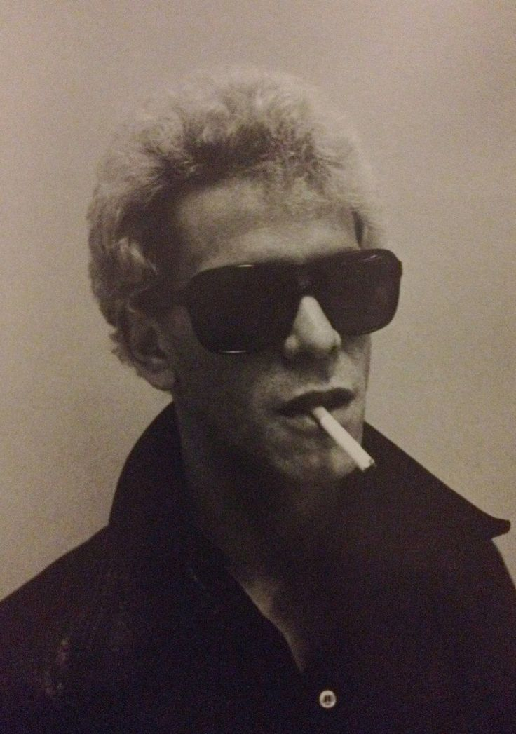 Lou Reed  by Dustin Pittman for LID Magazine, 1974. °