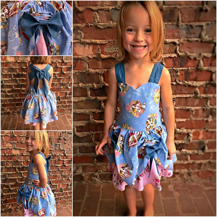 Girls Toddler Disney Princes Story Book Dresses Belle Beauty and the Beast Dress 12 18 24 2T 3T 4T 5T 6 8 10 by SSBSimplySewBoutique on Etsy