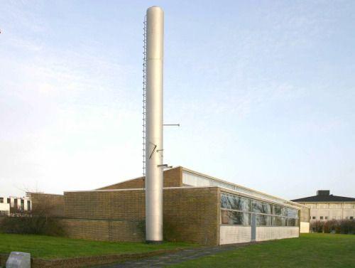 C.A.C. Motorrenovering AS (1956), Riihimäkivej 3 i Aalborg | arkitekt Arne Jacobsen