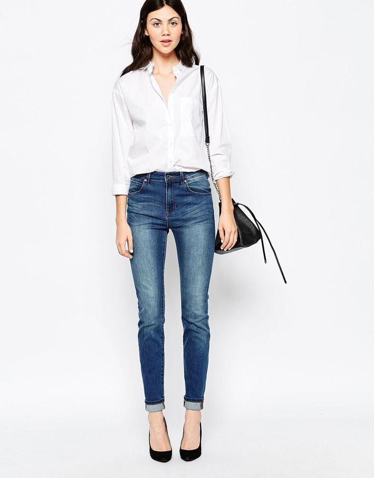 Image 4 ofDr Denim Arlene Skinny Jeans