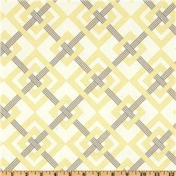 Yellow and gray fabric. Yes, please.