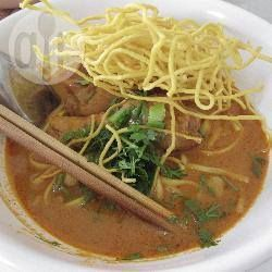 Thai Red Curry Beef with Crispy Noodles @ allrecipes.com.au