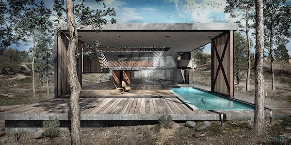 Mo Nei House on Behance