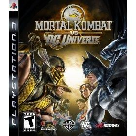 Midway PS 3 - Mortal Kombat vs. DC Universe