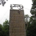 """My first challenge at Camp Butter and Egg was a 35 foot climbing wall. I forgot my age, saw myself as 27 and fit. LOL. I did very well climbing the wall until I got to about 28 feet. My legs began to shake and I had to start using my arms more. I forgot that I had elbow surgery 12 months ago. When I got to 33 feet, oops arms said """"I'm done"""". I stalled there for a few minutes and had a conversation with myself. I won and RANG THE BELL! To read more of this article…"""