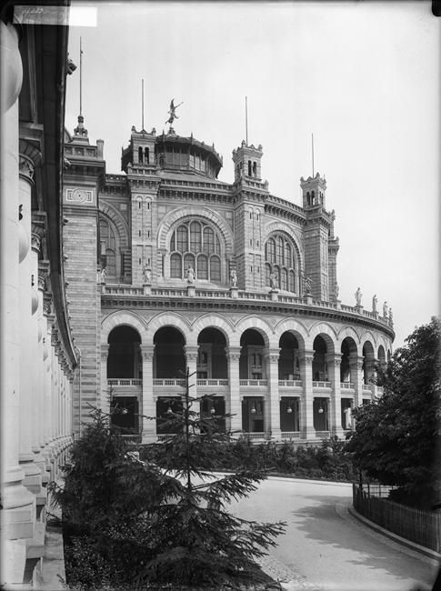 Exposition Universelle de 1900. Le Palais du Trocadéro.