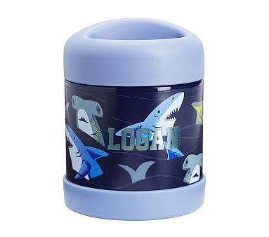 Mackenzie Hot Cold Container Navy/Blue Tropical Sharks