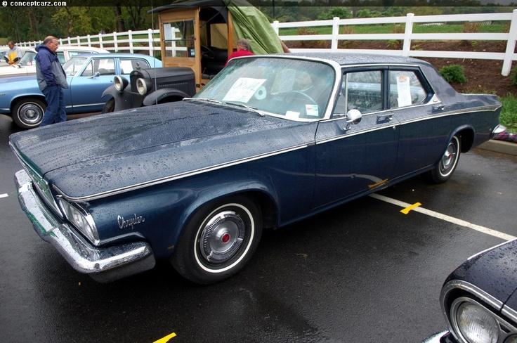 2nd Car 413 Cu In 1964 Chrysler New Yorker 4 Door