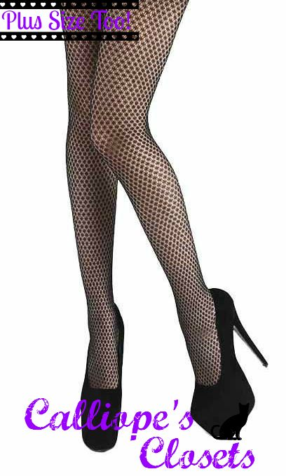 Sparkly Net Diamond Tights