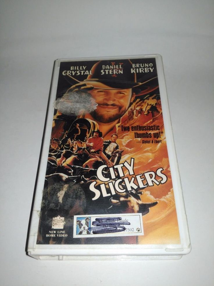 City Slickers VHS, 1991 Billy Crystal VCR Movie Tape