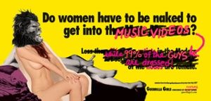 A recent Guerrilla Girls campagin