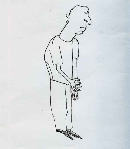 On the bus this morning I started paying attention to peoples posture as I am trying to improve my own. In doing this I noticed all the differences between how people hold and carry themselves.