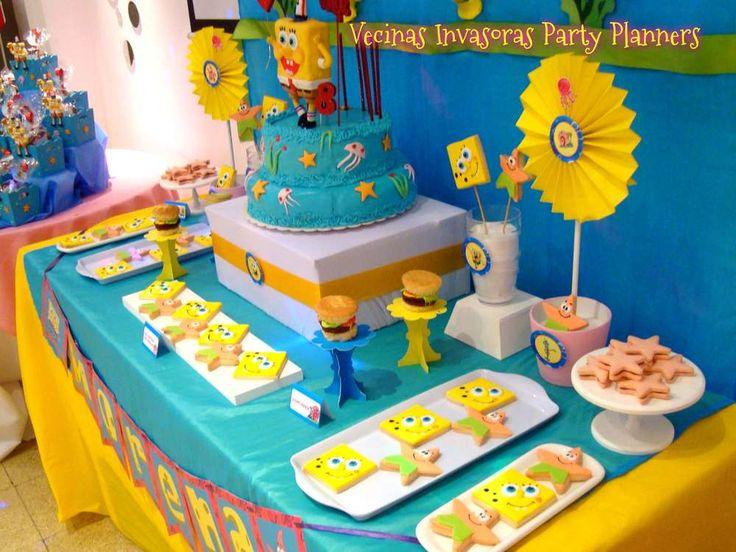 17 mejores ideas sobre fiesta de bob esponja en pinterest ideas de la fiesta de spongebob - Decoracion bob esponja ...