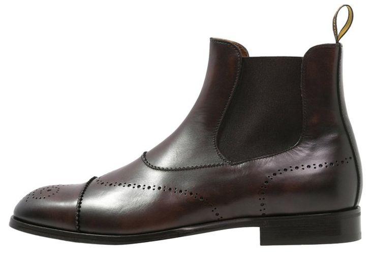 Nydelige mørkebrune støvler til mænd - efterår og vinter 2015