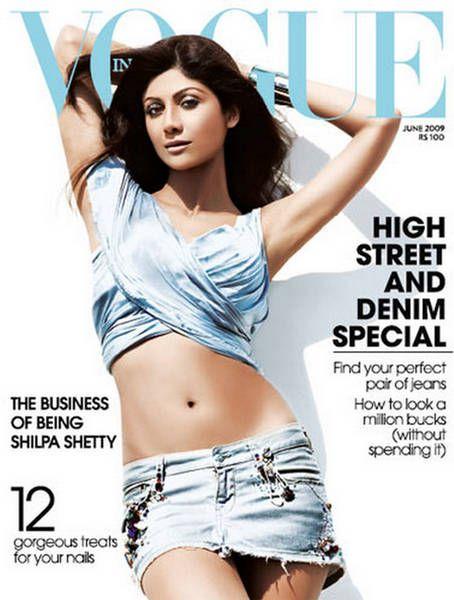 Shilpa Shetty Vogue India June 2009